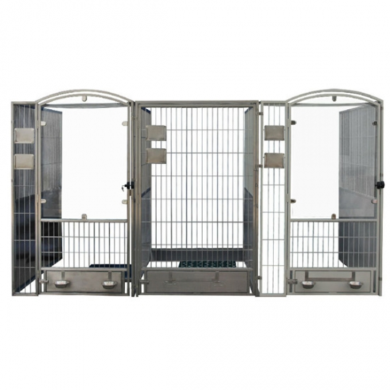 Stainless Steel Dog Kennel YSVET-DK01